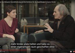 Arno Stern und MiniMe Interview