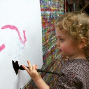 Kinder zeichnen aus purer Lust
