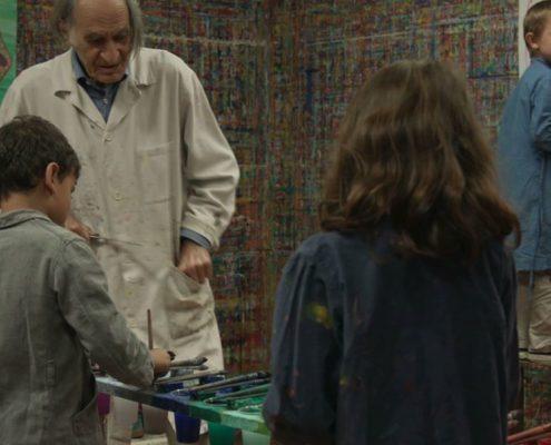 Fernsehpremiere: ARNO STERN - Die Welt der malenden Kinder