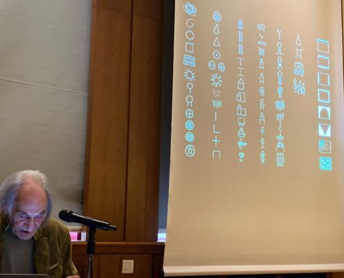 Arno Stern at Sorbonne - about Formulation