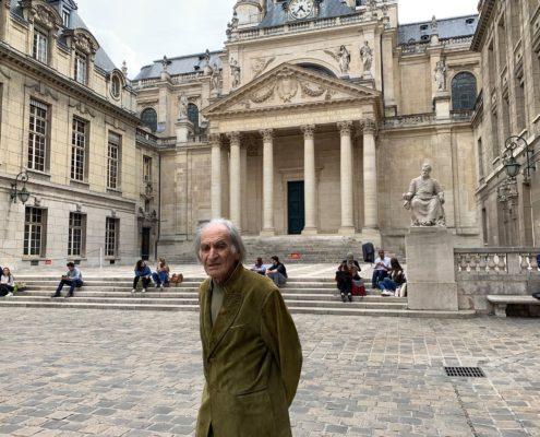 Arno Stern at Sorbonne
